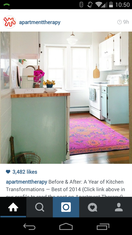 Mint kitchen