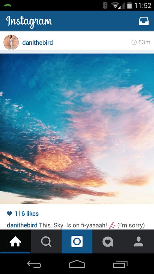 Danithebird - magic hour sky