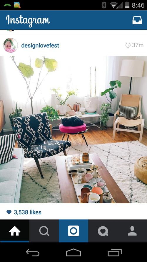 Designlovefest - living space